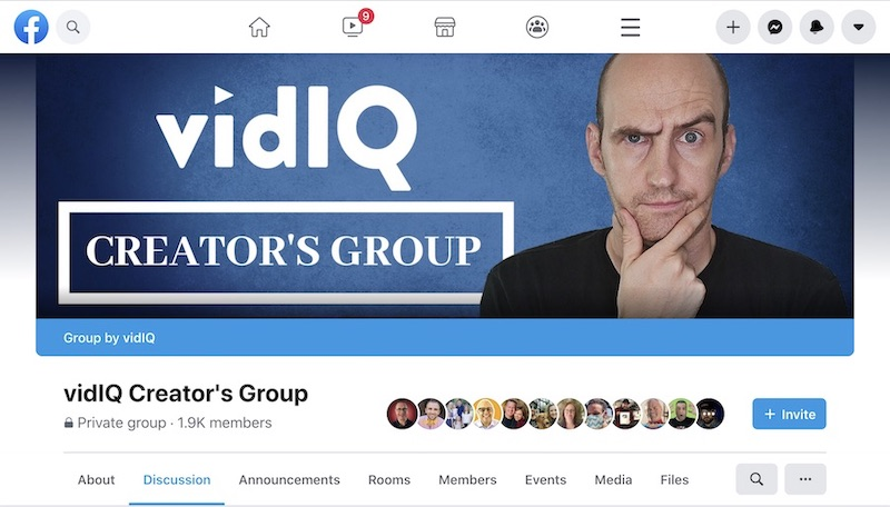 vidiq creators group