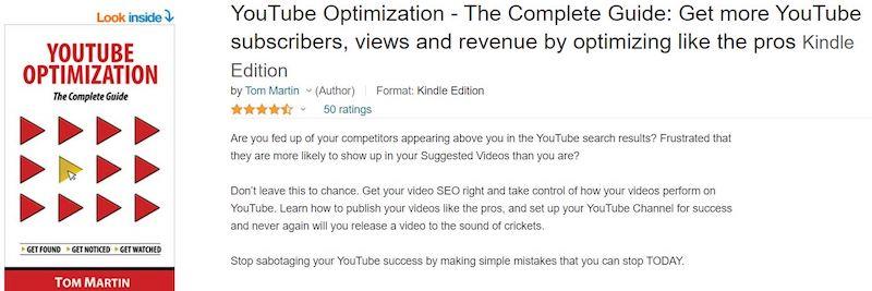 youtube optimization book