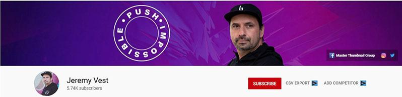 jeremy vest youtube