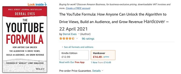 the youtube formula book